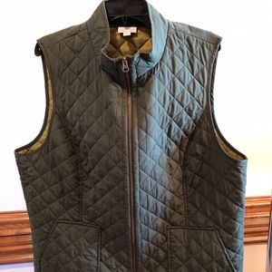 J Jill Heritage Quilted Vest 2X